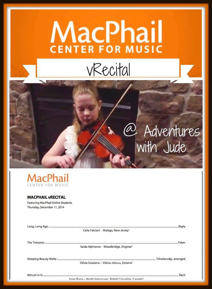 MacPhail Online Virtual Recital #music #online