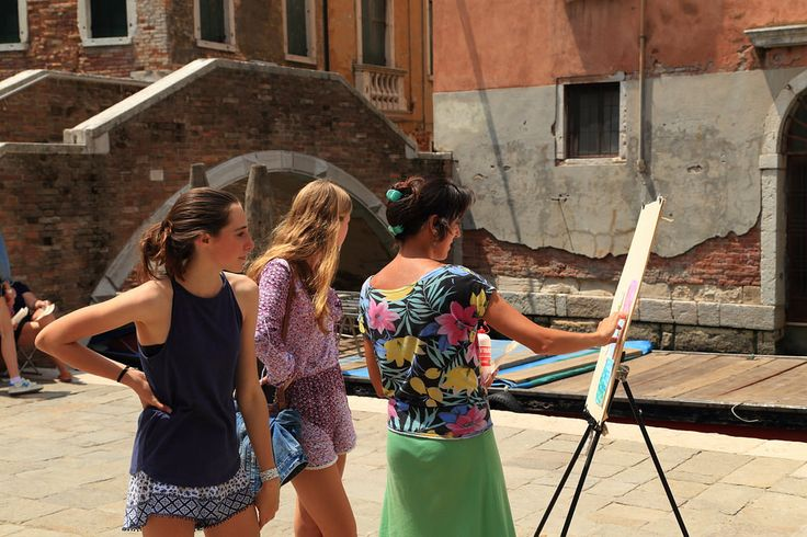https://flic.kr/p/w3LNve | Art School - Painting classes | Painting classes in Venice, Italy