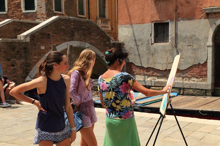 https://flic.kr/p/w3LNve   Art School - Painting classes   Painting classes in Venice, Italy