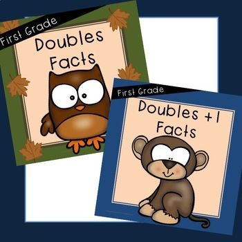 Bundled Doubles and Doubles +1 Included. Save 20% by purchasing Bundle! Purchase within 24 hours up upload and receive 50% discount! Doubles Facts Doubles +1 Facts