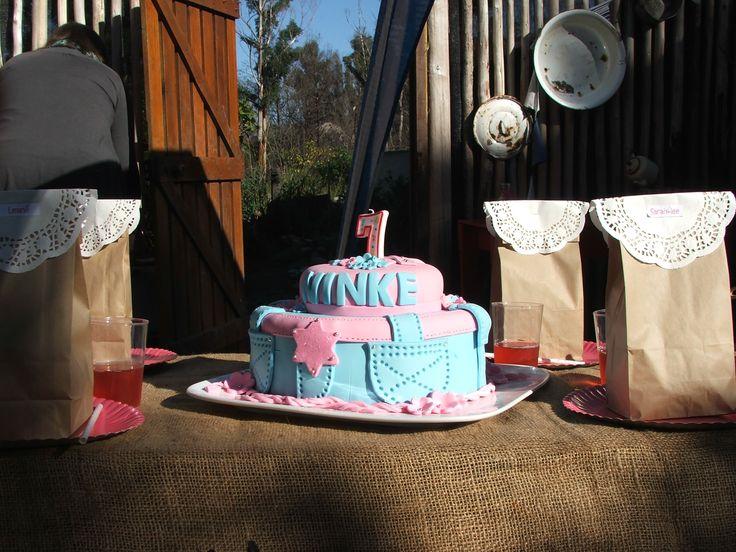 Cowgirl 7th birthday cake!