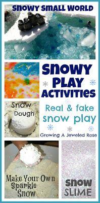 Cute ideas. Like the idea of the Styrofoam mixed with the ice.