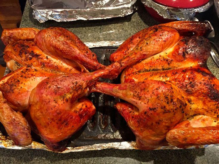 Want to know how to cook a butterflied turkey? It's easier, quicker and tastier, butterflied turkey is the only way to go on Thanksgiving...