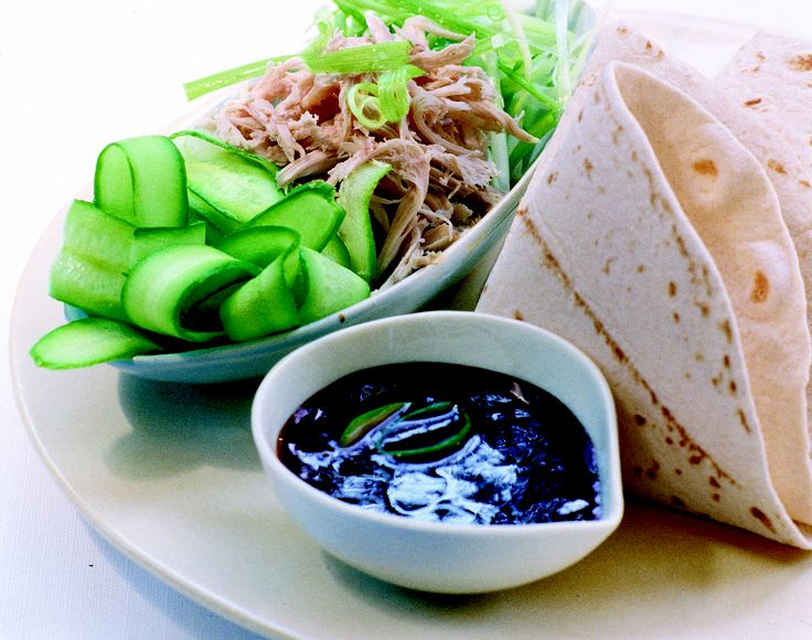 Chinese chicken wraps - HomeChoice Cookbook Volume I. Find the recipe here: http://hometalk.homechoice.co.za/content/chinese-chicken-wraps