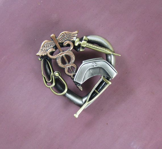 Nurses Tools of the Trade Brooch by PINSwithPERSONALITY on Etsy, $20.00