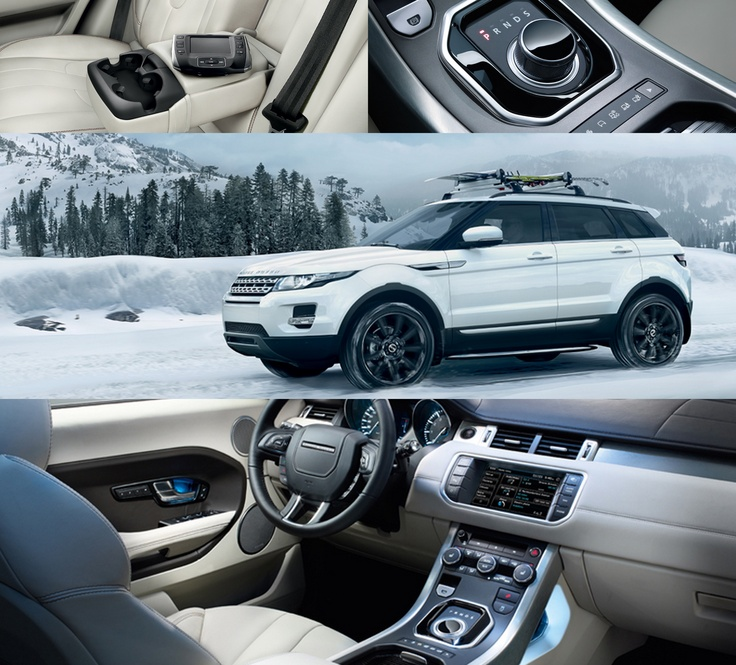 Range Rover Evoque. Ugh they're so cute. I just want any kind of Range Rover