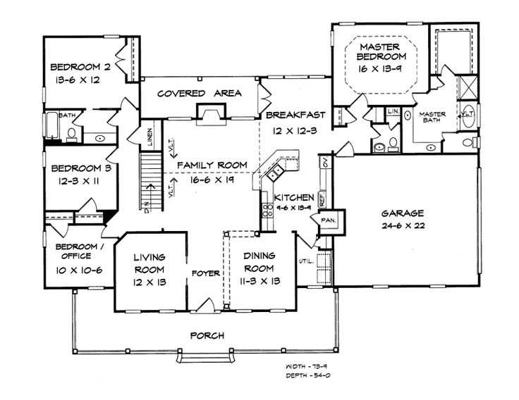 ranch house floor plan burgess hill country ranch home arquitectura 21406