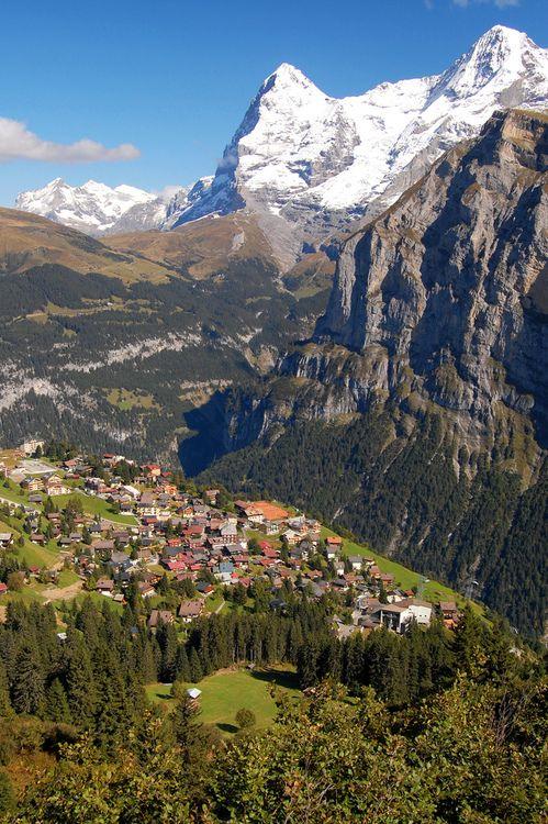 Mürren (20 minute bus ride from Lauterbrunnen), Switzerland