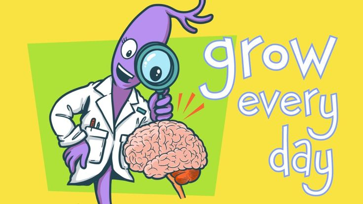 """This short video introduces kids to the powerful idea that taking on challenges can grow and strengthen our brains, and that we have the power to make our brains stronger every day. From """"Brain Jump with Ned the Neuron"""" - mobile app available on iTunes, Google Play and Amazon. Copyright Kizoom, Inc. 2013"""