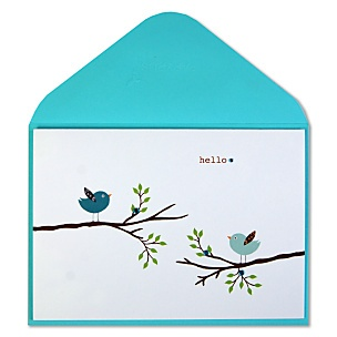bluebird card from papyrus