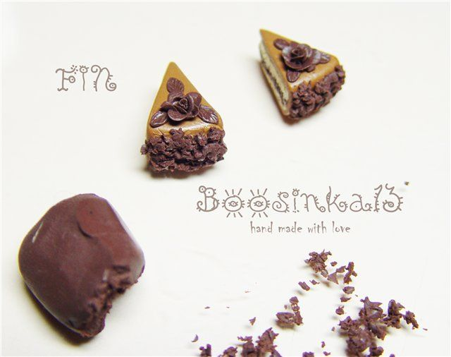 cake: Clay Ideas, Miniatures Ii, Fimo Miniatura, Clay Food, Clay Tutorials, Dollhouse Food, Dollhouse Miniatures, Food Tutorials