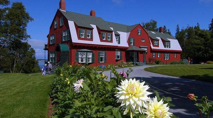 "FDR's ""cottage,"" Campobello Island, NB"