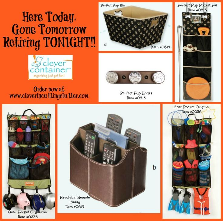 Retiring TONIGHT!  Order online at www.clerlycuttingclutter.com