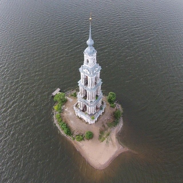 Калязин, река Волга