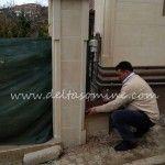 Bahçe Duvarları ve Taş İşçilikleri  Celal Zehebi'nin Villası  Kandilli – İstanbul