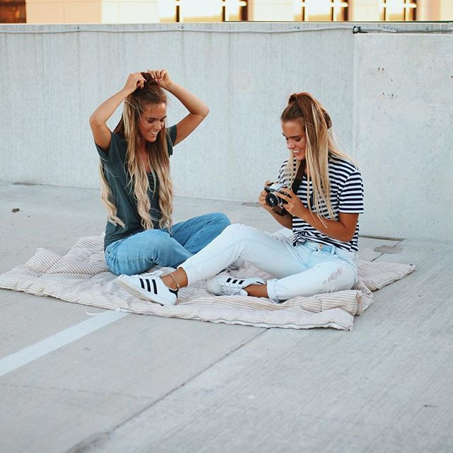 Totalmente relax con la mejor amiga del mundo. :)