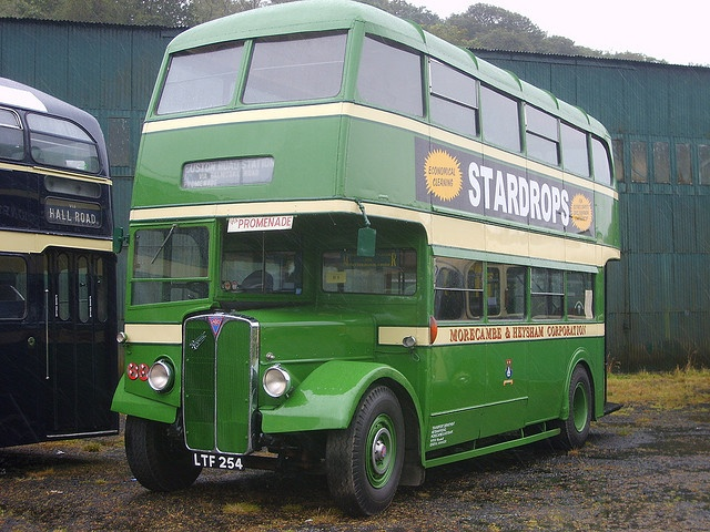 AEC double decker bus, Morecambe & Heysham Corporation. As I remember the 50s and early 60s