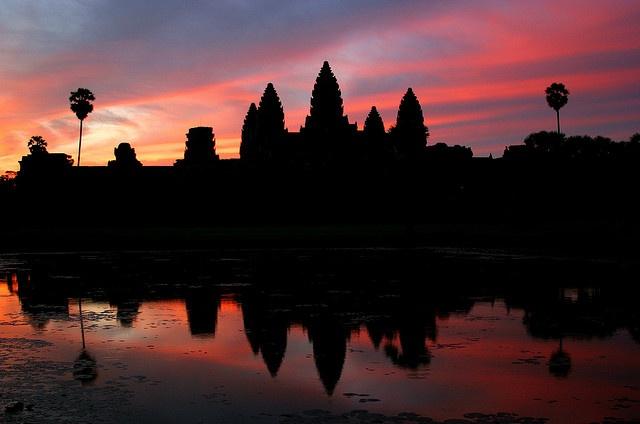 Angkor Wat Sunrise by Rob Kroenert: Join Funlife, Favorite Places, Rob Kroenert, Curious Cambodia, Cambodia Kingdom, Funlife Today, Sunrise, Architectural Marvels, Angkor Wat
