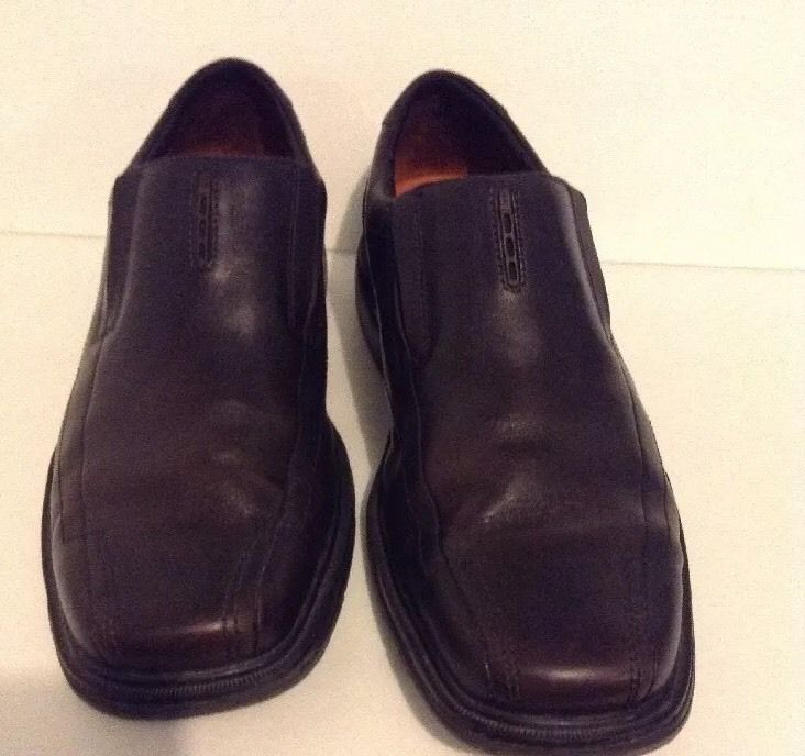 Structured Men's Brown Leather Shoes 11 Medium M | eBay