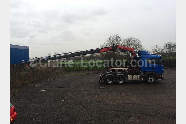Truck with crane Scania R480 for SALE =Crane-Locator=