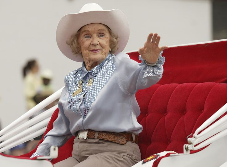 Patsy Rodgers The First Calgary Stampede Queen In 1946