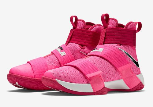 "The ""Think Pink"" LeBron Soldier 10 Will Be Available Later This... http://SneakersCartel.com #sneakers #shoes #kicks #jordan #lebron #nba #nike #adidas #reebok #airjordan #sneakerhead #fashion #sneakerscartel Check more at http://www.SneakersCartel.com"