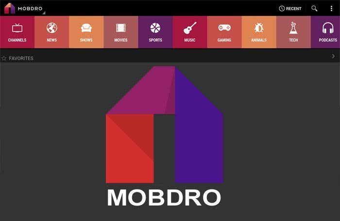 Mobdro APK for android download - learn how to download live TV app