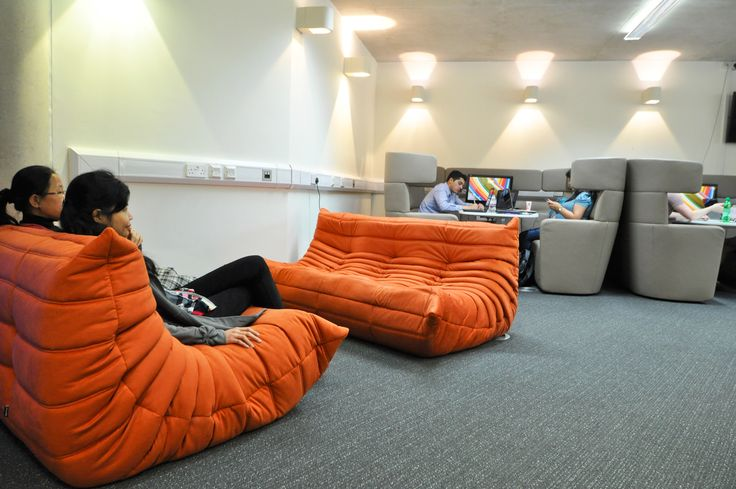 University of Portsmouth - Library: Ambiant Lounge sofas with Bene Parcs.