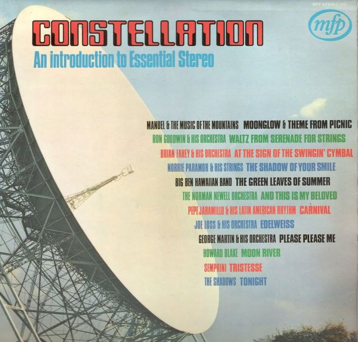 Various - Constellation - An Introduction To Essential Stereo