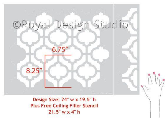 our moroccan wall stencils - photo #35