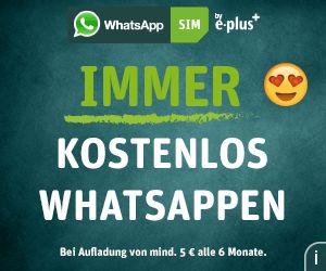 WhatsApp SIM - die revolutionäre Prepaid-Karte