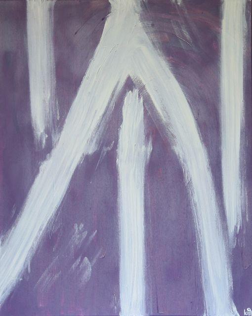 Move on, acrylic on canvas