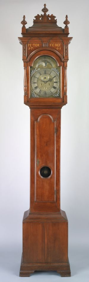 Tall Case Clock by Rudolph Stoner, circa 1765