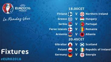 Eliminatoria Eurocopa 2016: sigue EN VIVO los resultados de hoy. Octubre 11, 2015.
