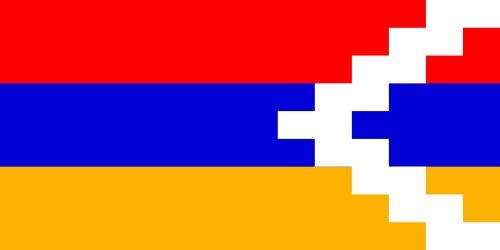 Nagorno-Karabachs flagga, flaggor