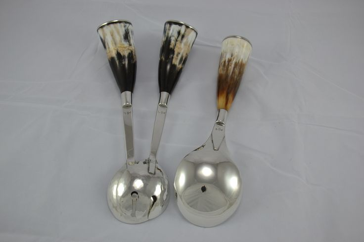 Salad servers & serving spoon by crofterscraft@gmail.com