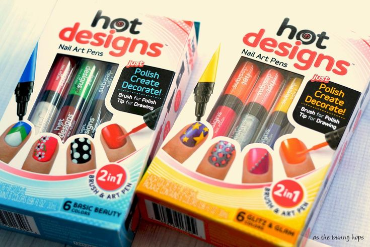 Designs To Do With Nail Art Pens ...