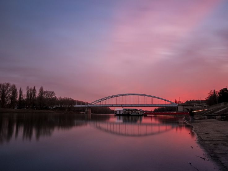 Walking by the river by Károly Vass on 500px