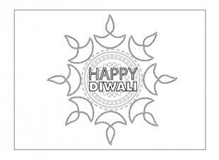 A great way of personalising greeting cards, is to make your own! There are lots to choose from, plus your child can enjoy colouring them in and writing their own message inside. Print off this Diwali card to celebrate the Festival of Lights!