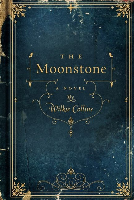 The Moonstone by Wilkie Collins #book #covers #design