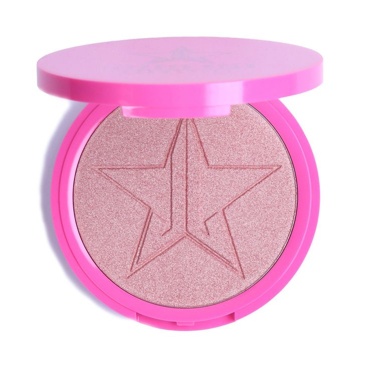 Jeffrey Star Cosmetics Skin Frost - Peach Goddess This highlighting powder is extremely pigmented, so get ready to glow like a lighthouse! (Beauty tip: This product can be used on the face, eyes & bod