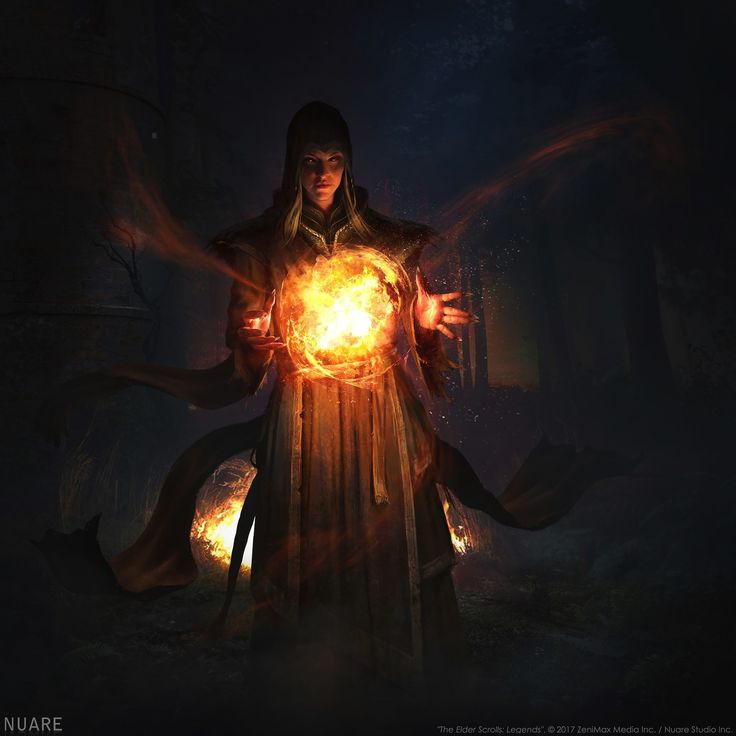 """The Elder Scrolls: Legends"", © 2017 ZeniMax Media Inc. / Nuare Studio Inc.  http://nuarestudio.com"