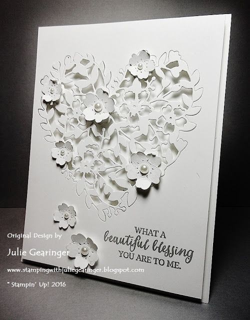 Stamping with Julie Gearinger: SUO140 Beautiful Blessing