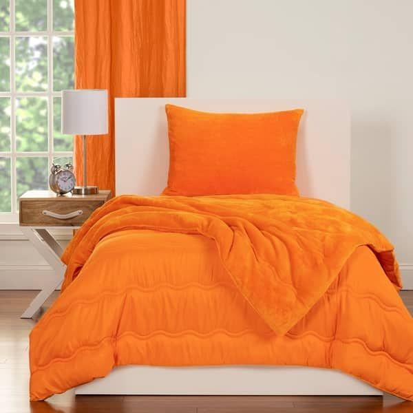 Overstock Com Online Shopping Bedding Furniture Electronics Jewelry Clothing More In 2021 Bedroom Orange Orange Bedroom Decor Comforter Sets