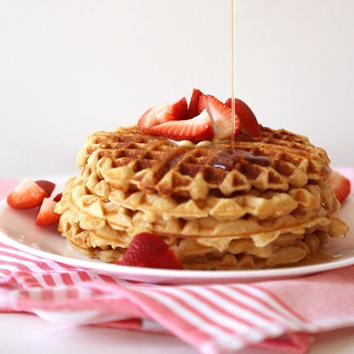 Waffles seem so basic, but small changes can make big differences - aka big flavor. You'll stop resorting to the premade stuff and start whipping up restaurant-worthy brunches thanks to these inspired waffle tips from some of our favorite celebrity chefs. Here's how Giada De Laurentiis, Alton Brown, and more experts interpret homemade waffles.