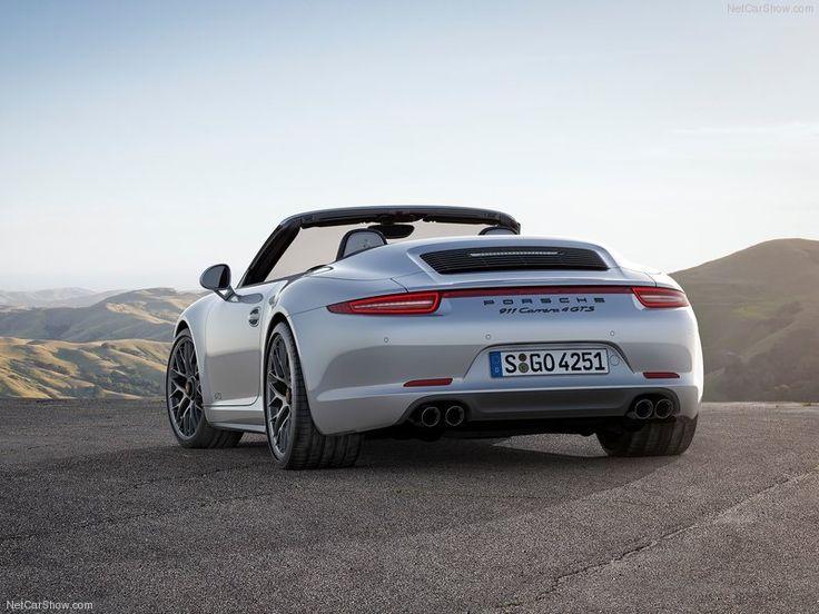 2015 Porsche 911 Carrera GTS Back Angle