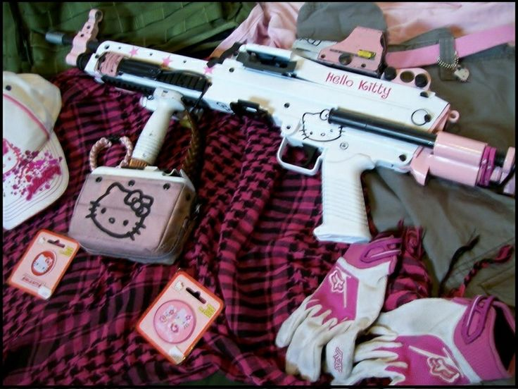 Hello Kitty Gun  Gear
