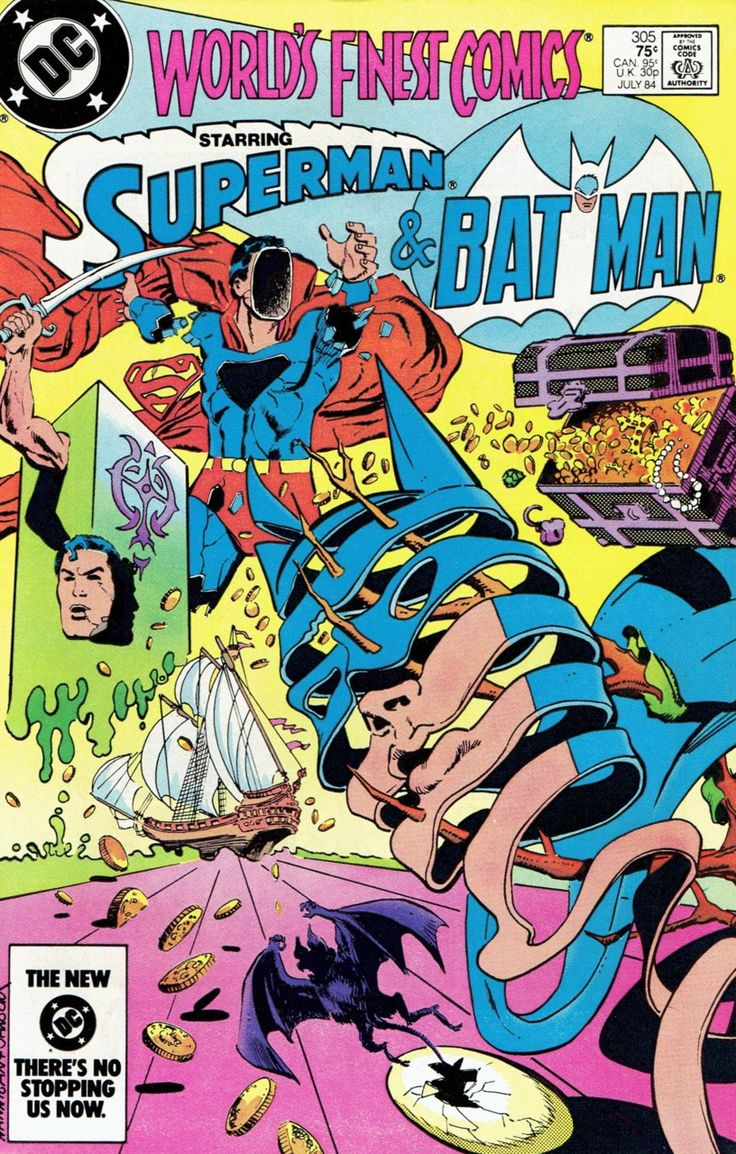Worlds Finest Comics 305