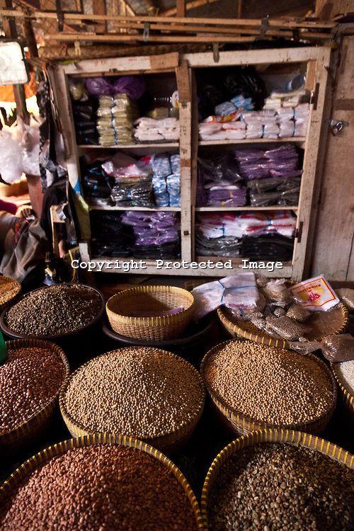 Mataram village market, Lombok island, Indonesia