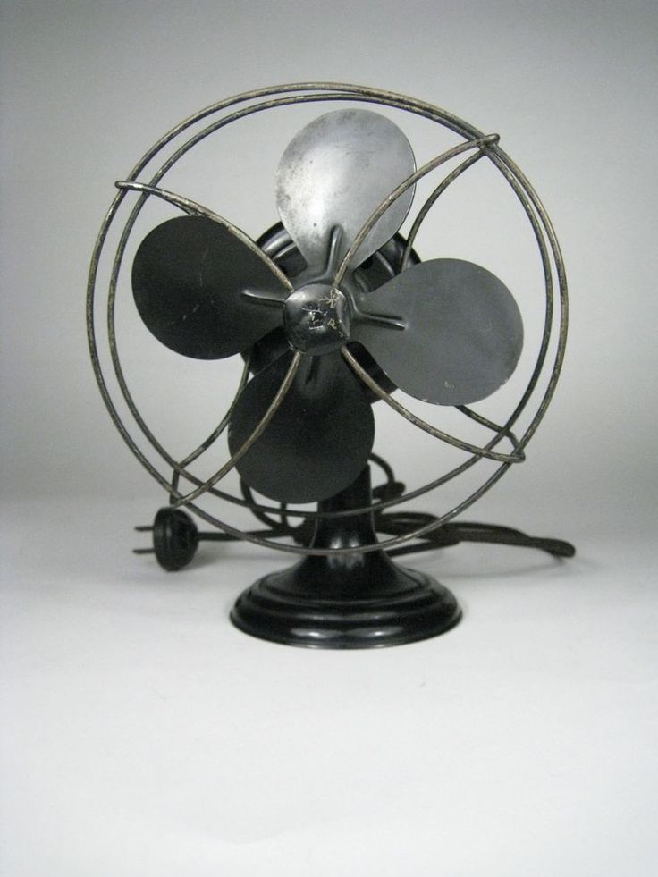 Westinghouse Electric Fan Black Blades Tabletop Vintage 17570 #Westinghouse